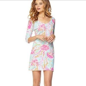 Lilly Pulitzer Cassie Dress Jellies Be Jammin Med